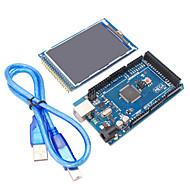 mega2560 R3 + 3,2 inch tft ips 480 x 320 kleuren full-angle LCD-module voor Arduino