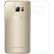 Недорогие Чехлы и кейсы для Galaxy S-Защитная плёнка для экрана Samsung Galaxy для S6 edge PET Защитная пленка для экрана Против отпечатков пальцев