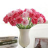 abordables Flores Artificiales-Flores Artificiales 1 Rama Estilo Simple Clavel Flor de Mesa