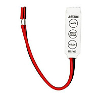 baratos -10pcs mini-LED RGB controlador 3-chave para tira conduzida 3528 5050 rgb luz SMD (12v 3x2a)