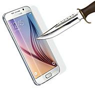 Χαμηλού Κόστους Galaxy S Προστατευτικά Οθόνης-Προστατευτικό οθόνης Samsung Galaxy για S6 Σκληρυμένο Γυαλί Προστατευτικό μπροστινής οθόνης Κατά των Δαχτυλιών