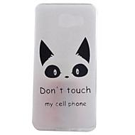 olcso Galaxy A9(2016) tokok-Mert Samsung Galaxy tok IMD Case Hátlap Case Cica Puha TPU Samsung A9(2016) / A7(2016) / A5(2016) / A3(2016)