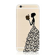 Voor iPhone 8 iPhone 8 Plus iPhone 7 iPhone 7 Plus iPhone 6 iPhone 6 Plus Hoesje cover Transparant Patroon Achterkantje hoesje Spelen met