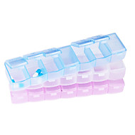 Travel Pill Box/Case Portable for Travel Accessories for Emergency