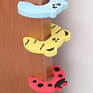 お買い得  浴室用小物-子供の安全保護赤ちゃんafetyかわいい動物ecityカードドアトッパー赤ちゃん新生児ケア子供ロック