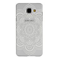 Для Кейс для  Samsung Galaxy Бумажник для карт / со стендом / Флип / С узором / Магнитный Кейс для Задняя крышка Кейс для Мандала PC