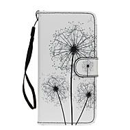 Для Samsung Galaxy S7 Edge Кошелек / Бумажник для карт / со стендом / Флип Кейс для Чехол Кейс для Одуванчик Искусственная кожа SamsungS7