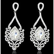 Women's AAA Cubic Zirconia Zircon Cubic Zirconia Drop Earrings - Birthstones For Wedding Party