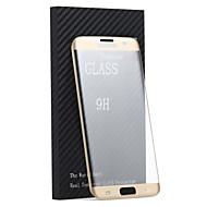 Недорогие Чехлы и кейсы для Galaxy S-Защитная плёнка для экрана для Samsung Galaxy S7 edge Закаленное стекло Защитная пленка для экрана Против отпечатков пальцев