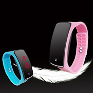 Herrn Modeuhr Sportuhr digital Touchscreen LED Silikon Band Mehrfarbig