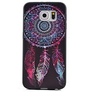 お買い得  Samsung 用 ケース/カバー-ケース 用途 Samsung Galaxy Samsung Galaxy S7 Edge パターン バックカバー ドリームキャッチャー TPU のために S7 Active / S7 plus / S7 edge