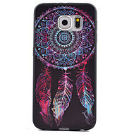 Mert Samsung Galaxy S7 Edge Minta Case Hátlap Case Álomvadász TPU Samsung S7 Active / S7 plus / S7 edge / S7 / S6 edge / S6