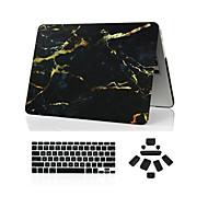 お買い得  MacBook 用ケース/バッグ/スリーブ-MacBook ケース マーブル ABS のために MacBook Pro 15インチ / MacBook Pro 13インチ