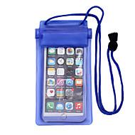 billige Vandsport-Tørposer / Tørrebokse Vandtæt, Mobiltelefon Dykning PVC  Til