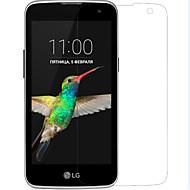 お買い得  LG用スクリーンプロテクター-透明ベースプラスチック ハイディフィニション(HD) / 傷防止 / 指紋防止 スクリーンプロテクター 指紋防止 / 傷防止Screen Protector ForLG LG K4