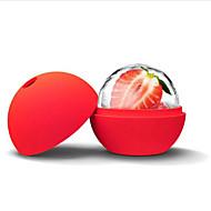 お買い得  キッチン用小物-シリコンアイスボールモールドアイスクリームメーカー直径4.5cm