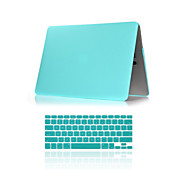 abordables 30% de DESCUENTO y Más-MacBook Funda Un Color ABS para MacBook Air 11 Pulgadas / MacBook Pro 15 Pulgadas con Pantalla Retina / MacBook Pro 13 Pulgadas con