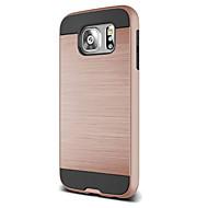 Недорогие Чехлы и кейсы для Galaxy S8 Plus-Кейс для Назначение SSamsung Galaxy Samsung Galaxy S7 Edge Защита от удара Кейс на заднюю панель броня ПК для S8 Plus S8 S7 edge S7