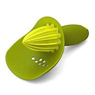 お買い得  キッチン用小物-キッチンツール プラスチック マニュアルジューサー フルーツのための 1個