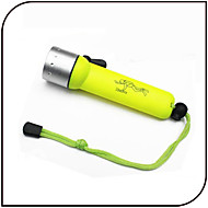YG16 Lanternas LED Lanternas de Mergulho LED 1000 lm 3 Modo LED Impermeável Tamanho Pequeno para Uso Diário Mergulho / Náutica Esportes