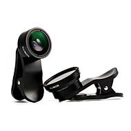 illimon® m12 + m18 telefoon lens 100 ° groothoek + 10 × macro lens + CPL / 175 ° fisheye + 13 × macro set