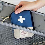 お買い得  トラベル小物-旅行用ピルケース 携帯用 小物収納用バッグ のために 携帯用 小物収納用バッグ レッド ブルー