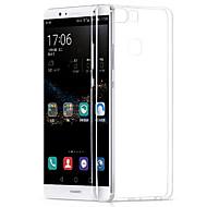 お買い得  携帯電話ケース-ケース 用途 Huawei社P9 Huawei社P9ライト Huawei社P8 Huawei Huawei社P8ライト P9 Lite P9 P8 Lite P8 Huaweiケース 超薄型 バックカバー 純色 ソフト TPU のために Huawei P9 Lite