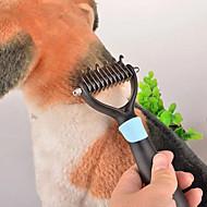 abordables -de Aseo Peines Mascotas Útiles de Aseo Portátil Azul / Rosa Plástico / Acero Inoxidable