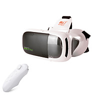 abordables Gafas de Realidad Virtual-RITech 3plus realidad virtual vr gafas 3d controlador + bluetooth blanco