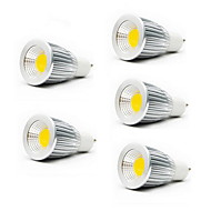 billige -5w gu10 gu5.3 (mr16) e26 / e27 led spotlight mr16 1 cob 450-700lm varm hvit kald hvit 3000k / 6500k ac 85-265v