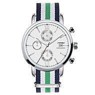 SINOBI Muškarci Ručni satovi s mehanizmom za navijanje Kvarc Kalendar Kronograf Vodootpornost Nehrđajući čelik Grupa Zelena Zelen