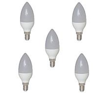 tanie Żarówki LED świeczki-2w e14 doprowadziły światła świecowe c35 15 smd 2835 200-250 lm ciepła biała ac 220-240 v