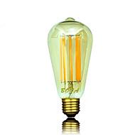 お買い得  LED ボール型電球-b22 e26 e26 / e27 led電球電球st64 8芯450-650lm暖かい白2200k 2700k 3000k調光可能な装飾的なAC 220-240 AC 110-130v