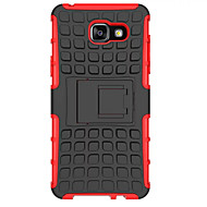 voordelige Galaxy A3(2016) Hoesjes / covers-dekt zachte siliconen hard plastic hoes voor de Samsung Galaxy A3 / A5 / A7 (2016) case houder stand telefoon geval