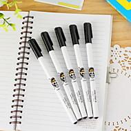 preiswerte Schreibwaren-Kugelschreiber Stift Gelstifte Stift, Kunststoff Schwarz Tintenfarben For Schulzubehör Bürobedarf Packung