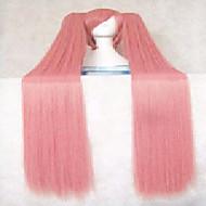 halpa -Synteettiset peruukit Suora Tiheys Naisten Costume Wig Synteettiset hiukset