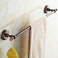 お買い得  浴室用小物-タオルバー グリーン ウォールマウント 24.2*2.5*2.9 inch 真鍮 モダン