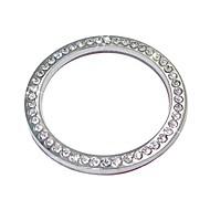 ziqiao auto decoratieve accessoires auto-knop switch knop diamanten ring
