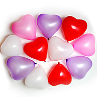 cheap Classic Toys-100pcs Heart Shape Balloons Occasions Wedding Birthday Party Decoration Supplies Ballon Party Decora