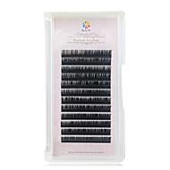 halpa -A box has 12 rows of eyelashes ripsien Silmäripsi Yksittäiset irtoripset Silmät / Silmäripsi Luonnollisen pitkätPidennetty / Suurennettu