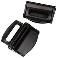 ziqiao 1対車のシートベルトクリップ安全調節可能なストッパーバックルプラスチック製クリップ