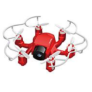 abordables Deportes y Hobbies-RC Dron FQ777 126C 4 Canales 6 Ejes 2.4G Con Cámara 2.0MP HD Quadccótero de radiocontrol  Retorno Con Un Botón / Modo De Control Directo / Vuelo Invertido De 360 Grados Quadcopter RC / Mando A