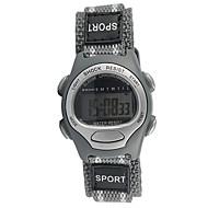 cheap Sport Watches-Sport Watch Quartz Casual Watch Cool Fabric Band Analog Fashion Grey - Gray One Year Battery Life / Tianqiu 377