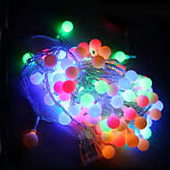 10m led húr fények 100led labda AC220V üdülési dekoráció lámpa fesztivál karácsonyi fények kültéri világítás