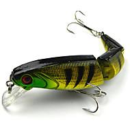 お買い得  釣り用アクセサリー-1 pcs ルアー ハードベイト / ミノウ プラスチック 川釣り / ルアー釣り / 流し釣り / 船釣り