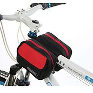 お買い得  -ROSWHEEL 1.7 L 自転車用フレームバッグ / トップチューブバッグ 防湿, 耐久性, 耐衝撃性の 自転車用バッグ 布 / PVC / テリレン 自転車用バッグ サイクリングバッグ サイクリング / バイク / 防水ファスナー
