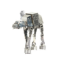 cheap Toys & Hobbies-3D Puzzles Jigsaw Puzzle Metal Puzzles 3D Imperial Walker DIY Metal 8 to 13 Years