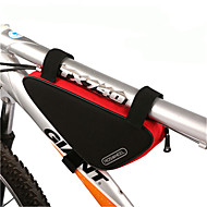 billige -ROSWHEEL® Sykkelveske 1.5LVesker til sykkelramme Vanntett Glidelås Fukt-sikker Støtsikker Anvendelig Sykkelveske PVC 600D Polyester