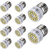 E26/E27 LED szpotlámpák T 24 led SMD 2835 Dekoratív Meleg fehér Hideg fehér 300lm 3000/6000K AC 220-240V