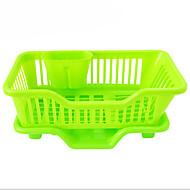 お買い得  収納&整理-1個 ラック&ホルダー プラスチック 使いやすい キッチン組織